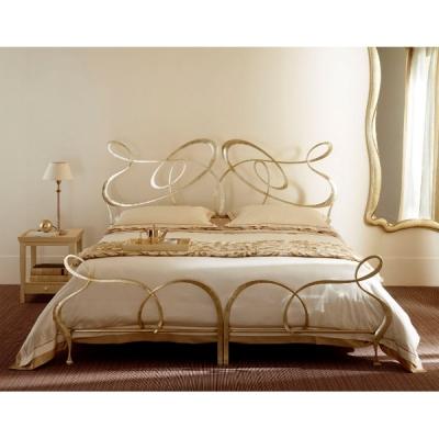 Mод. Ghirigoli - спалня с метална табла. Производител: Cantori, Италия.  Луксозни италиански метални спални.