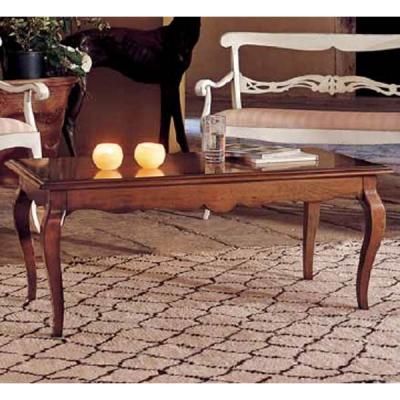 Класическа маса за дневна от масив и естествен фурнир. Модел Giglio. Производител: Crema Francesco, Италия. Класически холни мас