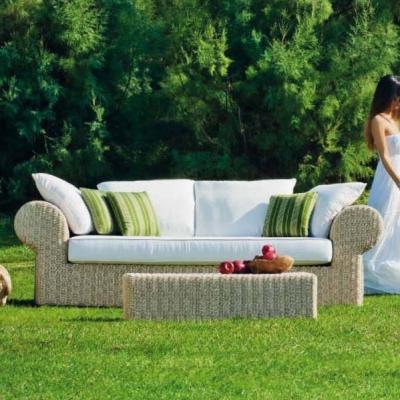 Колекция Giunone - мебели и аксесоари от изкуствен ратан подходящи за външни условия. Производител: Atmosphera, Италия. Луксозни