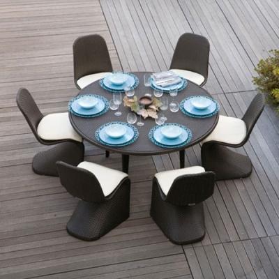 Колекция Glamour - мебели и аксесоари от изкуствен ратан подходящи за външни условия. Производител: Atmosphera, Италия. Луксозн