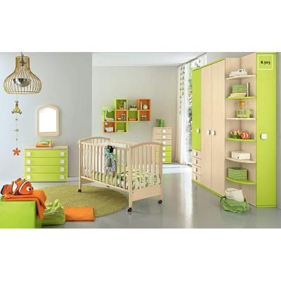 Мебели, осветителни тела и аксесоари за бебешки стаи. Композиция B503, Colombini. Модерни и класически италиански мебели за най-