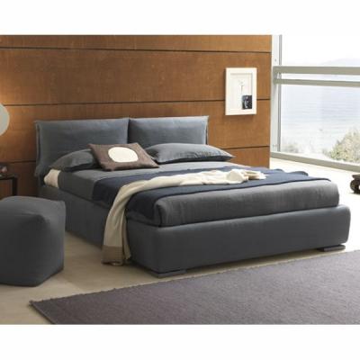 Модерна спалня с изцяло сваляща се текстилна тапицерия модел Iorca. Производител: Bolzan, Италия. Луксозни италиански модерни сп