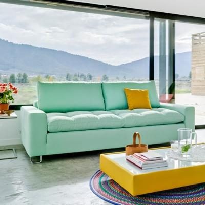 Модерна модулна мека мебел с комфортно меко сядане модел Jazz. Sancal, Испания. Луксозни испански мебели - дивани, кресла, холни
