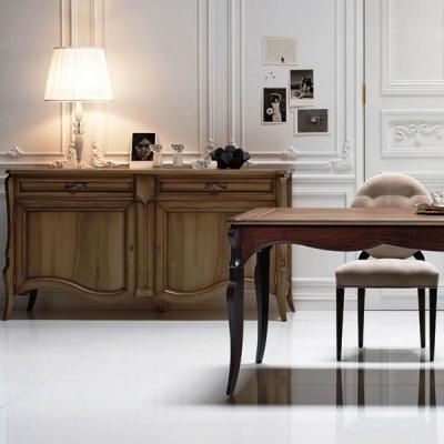 Класически и неокласически мебели за трапезария. Маси, столове, витрини, скринове и аксесоари от масив, дървесни материали, мета