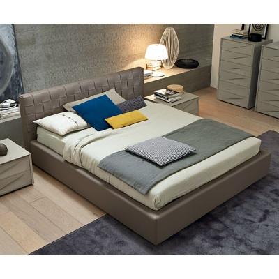 Модерна спалня с кожена тапицерия мод. Lido. Производител: SMA, Италия.  Луксозни италиански кожени спални с контейнер.