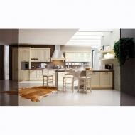 Класически модел италианска кухня Lussi. Производител: ARREX, Италия. Класически кухни от масив, МДФ, ПДЧ с естествен фурнир, ла