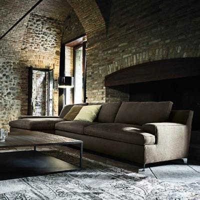 Луксозен италиански диван мод. Malta, производител Arketipo, Италия. Разнообразие от модули, текстилни и кожени тапицерии, пълне