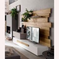 Модерни холни италиански композиции-колекция Scuderia. Maronese Acf. Модерни италински мебели за дневна - тв композиции, скронов