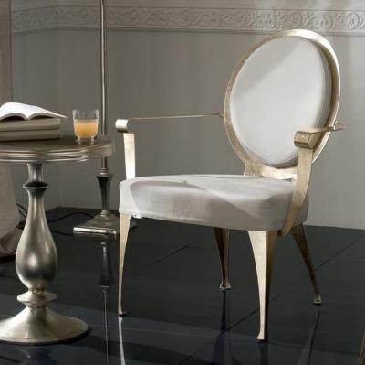 Мод. Miss - кресло с метални крака и рамка, текстилна или кожена тапицерия. Производител: Cantori, Италия. Луксозни италиански к