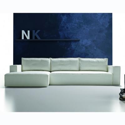 Мека мебел с изцяло сваляща се дамаска модел Sintesi. Производител: Rigosalotti, Италия. Модерни италиански дивани - разнообрази