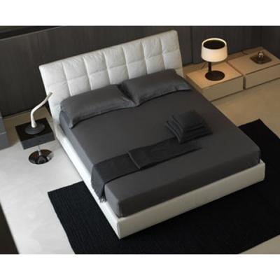 Мод. Mondrian- кожена спалня с гъши пух. Производител: Cierre imbottiti, Италия. Луксозни италиански кожени спални с контейнер.