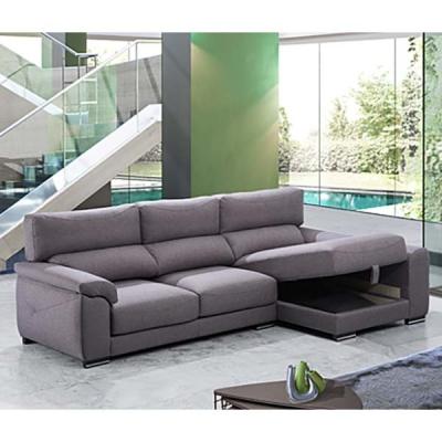 Мека мебел с механизми на гръбните и седални възглавници, лежанка с контейнер. Модел Nadia. Dina tapizados, Испания. Модерни исп