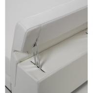 Спалня с кожена тапицерия и механизъм за промяма височината на таблата мод. Nick. Производител: Cierre imbottiti, Италия. Луксоз