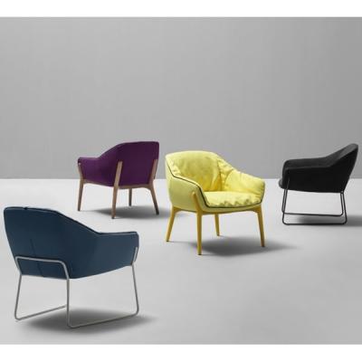 Дизайнерско кресло с метална или дървена структура модел Nido. Sancal, Испания. Луксозни испански мебели-дивани, кресла, маси за