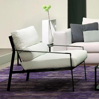 Луксозно кресло с текстилна или кожена тапицерия модел Ozio. Производител: Arketipo, Италия. Луксозно дизайнреско кресло с модер