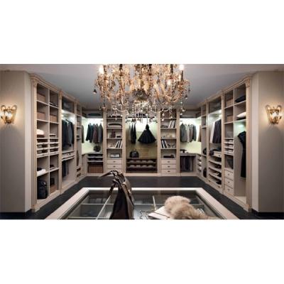 Мод. Palladio - Класическа гардеробна от масив и дървесни материали. Производител: FM, Италия. Класически луксозни италиански га
