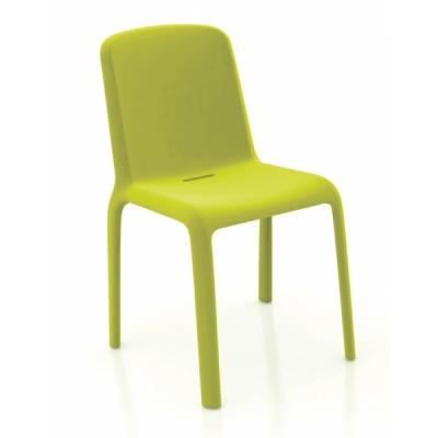 Трапезарен стол от полипропилен мод. Snow. Производител: Pedrali, Италия.