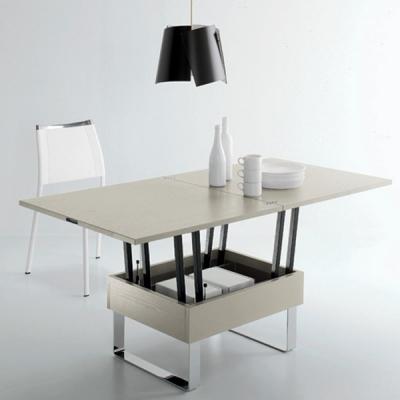 Мод. Piccolo - маса за дневна с механизъм за разтягане и повдигане на плота. Производител: Sedit, Италия. Модерни, интересни и п