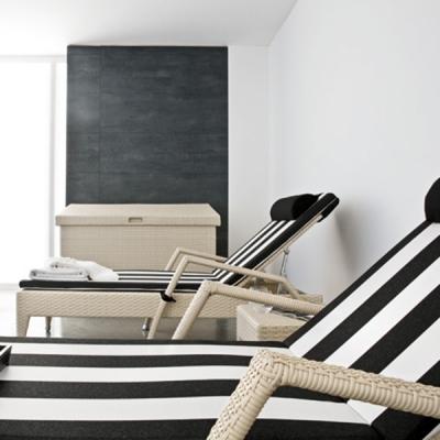 Мод. Relaxia - мебели и аксесоари от изкуствен ратан подходящи за външни условия. Производител: Atmosphera, Италия. Луксозни ита