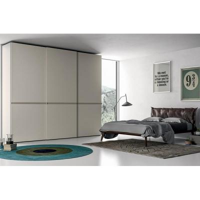 Луксозен италиански гардероб с врати на плъзгане модел Riga. Dall'Agnese, Италия. Модерни италиански луксозни мебели за спалня -