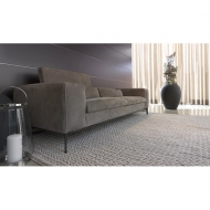 Мод. Rigoletto- кожена мека мебел с механизъм за промяна височината на гръбните възглавници. Производител: Cierre imbottiti, Ита