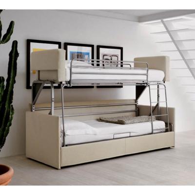 Диван с механизъм за двойно легло (едно над друго). Модел Castello. Производител: Rigosalotti, Италия. Модерни италиански мебели