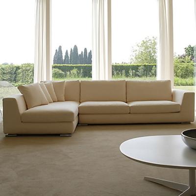 Mека мебел мод. Harlem. Производител: Rigosalotti, Италия. Модерни италиански дивани с изцяло сваляща се тапицерия с възможност