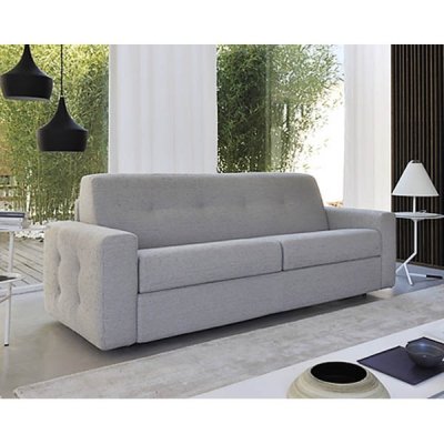 Модерен италиански диван с механизъм за сън модел Jump. Производител: Rigosalotti, Италия. Модерни италиански мебели с функция с