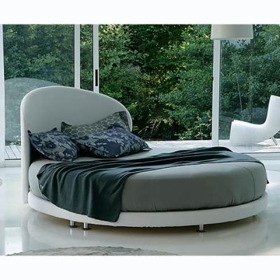 Модерена кръгла спалня с изцяло сваляща се тапицерия мод. Kaleido. Производител: Rigosalotti, Италия. Разнообразие от изцяло сва