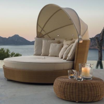 Мод. Romantic - мебели и аксесоари от изкуствен ратан подходящи за външни условия. Производител: Point, Испания. Луксозни испанс