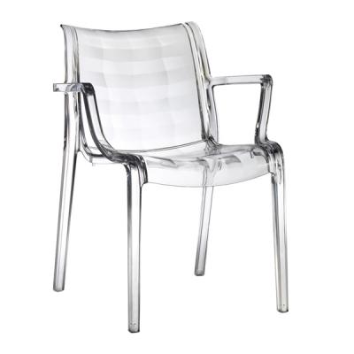 Трапезарен стол от поликарбонат мод. Extraordinaria. Производител: SCAB Design, Италия