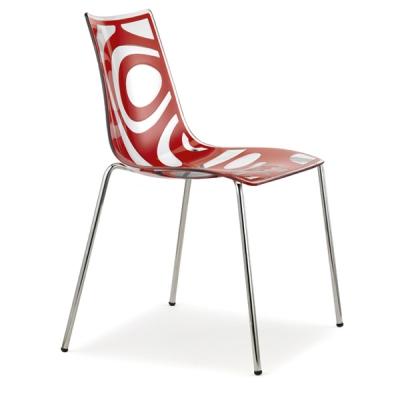 Трапезарен стол от технополимер мод. Wave. Производител: SCAB Design, Италия.