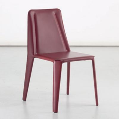 Мод. Glamour - изцяло тапициран с кожа трапезарен стол. Богат избор на кожени тапицерии. Производител: Sedit, Италия. Модерни ит