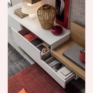 Модерни холни италиански композиции-колекция Seta. Maronese Acf. Модерни италински мебели за дневна - тв композиции, скронове, м