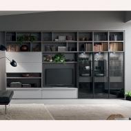 Модерни италиански композиции за дневна-колекция Seta. Maronese Acf. Модерни италински мебели за дневна - тв композиции, скронов