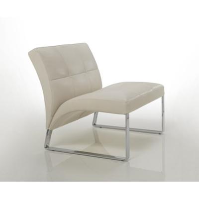 Мод. Seventies- Кожено кресло с метални крака. Производител: Cierre imbottiti, Италия.