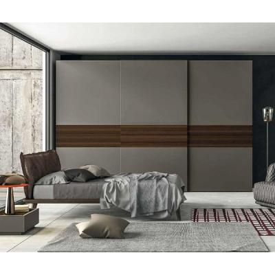 Модерен луксозен гардероб с врати на плъзгане модел Slide. Dall'Agnese, Италия. Модерни и класически италиански мебели за спалня