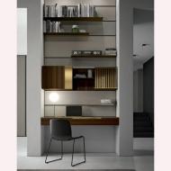 Модерни италиански композиции за дневна. Колекция Slim. Dallagnese, Италия. Луксозни италиански мебели за дневна - корпусна мебе