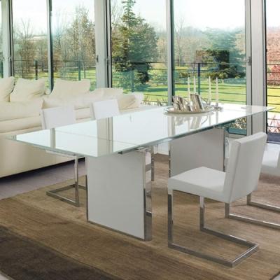 Мод. Sun - трапезарна маса с механизъм за разтягане. Производител: Antonello, Италия.