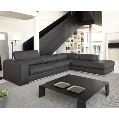 Луксозна италианска мека мебел с кожена тапицерия модел Symphony. Cierre, Италия