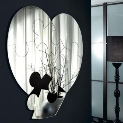 Огледало мод. Cuorematto. Производител: Unico Italia, Италия. Луксозни италиански огледала подходящи за спалня, дневна и антре.