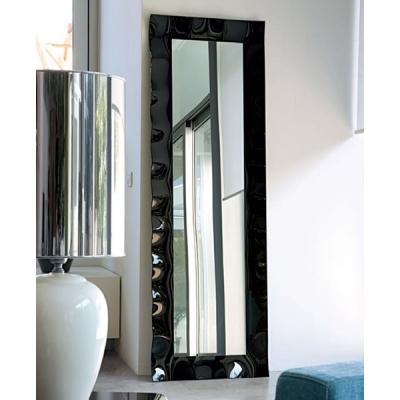 Огледало мод. Vertigo - рамка от закалено извито стъкло. Производител: Unico Italia, Италия. Модерни и луксозни италиански свобо