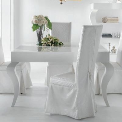 Класическа маса за трапезария мод. Valley -масивна дървесина и естествен фурнир. Производител: Epoque salotti, Италия.  Класичес