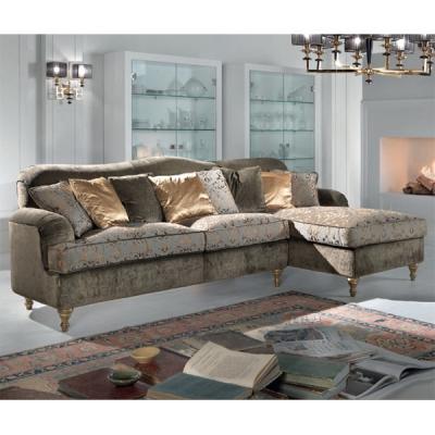 Класически модел диван Mод. Vella. Производител: Epoque salotti- Egon Fustenberg, Италия. Луксозна класическа мека мебел с лежан