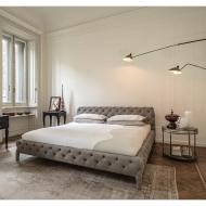 Диван с кожена или текстилна тапицерия модел Windsor. Производител: Arketipo, Италия. Луксозна италианска кожена мека мебел.