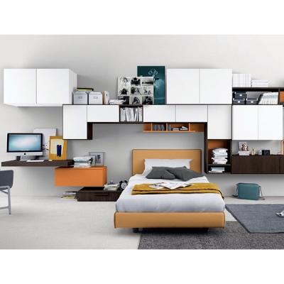 Модерни мебели за юношески стаи. Колекция Golf Young, примерна композиция Y505. Colombini, Италия. Италианско обзавеждане за юно